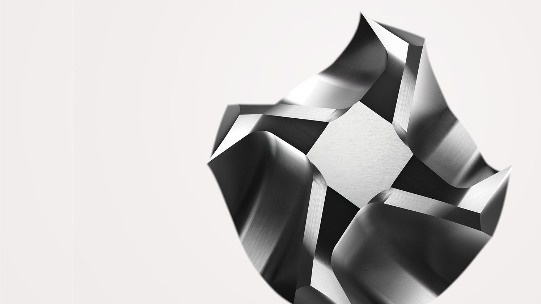 世界初のV字型切れ刃<br>XEBECバリレス面取りカッター